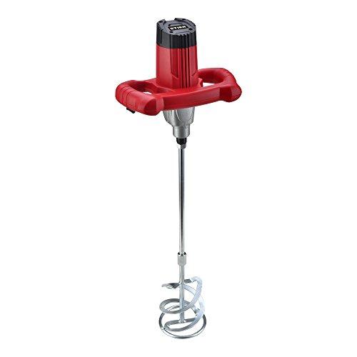 STIER Rührwerk RW80, Mörtelrührer, 1220 W, maximales Mischvolumen 80 l, geeignet für Farbe, Mörtel, uvm.