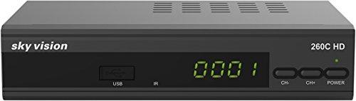 Sky Vision 260 C-HD (HDTV Kabelreceiver, HDMI, Scart, Netzwerkschnittstelle, USB, Elektronischer Programmführer)
