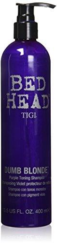 Tigi BED HEAD  Dumb Blonde Purple Toning Shampoo, 1er Pack (1 x 400 ml)