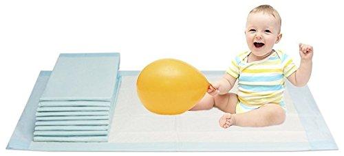 Vidima Wickelunterlage 40x60 cm | 200 Stück | 6-lagige saugstarke Babyunterlage aus Zellstoff | hautfreundlich & rutschhemmend | unterverpackte Einmalunterlage für Kleinkinder & Säuglinge
