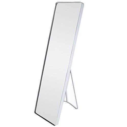 riya Standspiegel Garderobenspiegel Ankleidespiegel Ganzkörperspiegel Spiegel Weiß