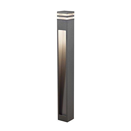 Gnosjö Konstsmide 7945-370 A Wegeleuchten, Aluminium, anthrazit, 11 x 11 x 100 cm