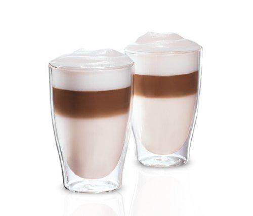 Tchibo Cafissimo Latte Macchiato Gläser Tassen 2er Set doppelwandig Thermoglas spülmaschinengeeignet