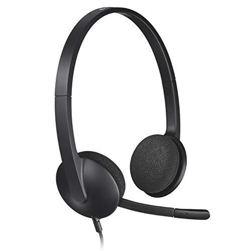 Logitech H340 Headset USB schwarz