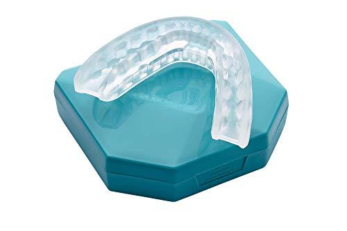 NEU! Aufbissschiene Zahnschutz beim nächtlichen Zähneknirschen, CMD und Schnarchen Knirscherschiene Schnarchstopper inkl. Schlafapnoe Nasendilatator