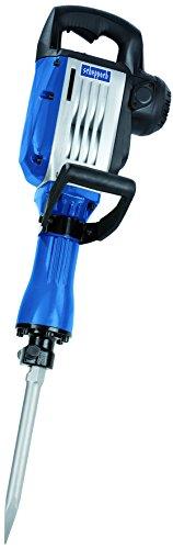 Scheppach 5908201901 Abbruchhammer / Meißelhammer AB1600 | + Spitzmeißel, Flachmeißel, Metallkoffer / D-Handgriff / Kompakt / Vibrationsarm (50 Joule / Schlagzahl: 2000 1/min / 230 V / 16 kg)