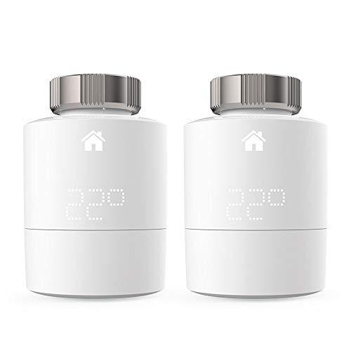 Tado Smartes Heizkörper-Thermostat (Duo Pack, Zusatzprodukte für Einzelraumsteuerung, intelligente Heizungssteuerung)