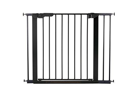 Baby Dan 60116-2693-02-85 Premier Tür/Treppenschutzgitter zum Einklemmen, 73.5-99.8 cm, schwarz