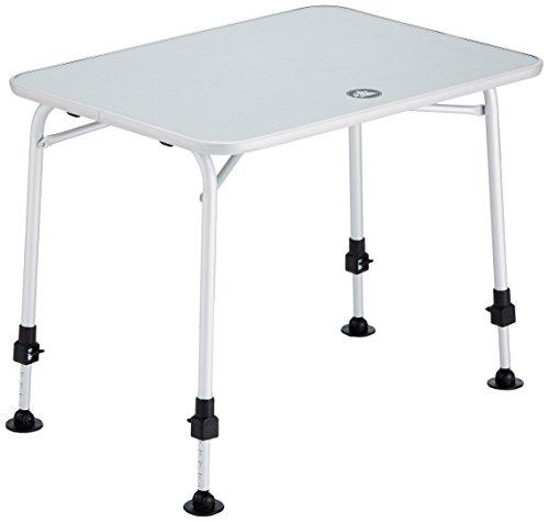 10T Flaprack Campingtisch 80x60 Klapptisch für 2 - 4 Personen Gartentisch Picknick Reisetisch klappbarer Tisch mit stabiler Tischplatte und Teleskop-Tischbeine stufenlos verstellbar