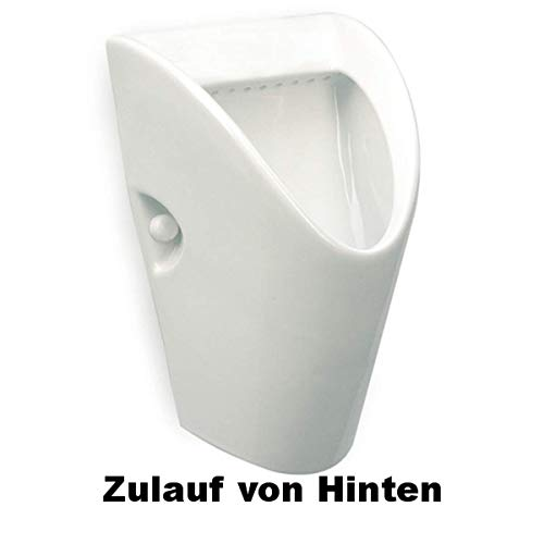Urinal Zulauf Hinten Weiß Modern Keramik Spülrand Geschlossen Pissoir ROCA CHIC