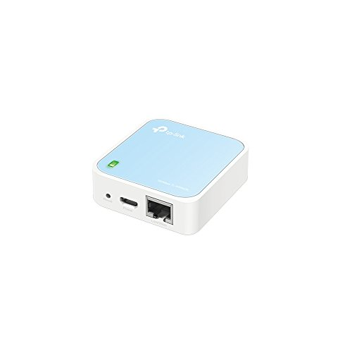 TP-Link TL-WR802N N300 WLAN Nano Router(Portable, Accesspoint/TV Adapter/Repeater/Router/Client, 300 Mbit/s(2,4GHz), Print/Media/FTP Server)