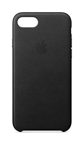 Apple Leder Case (iPhone8 / iPhone 7) - Schwarz