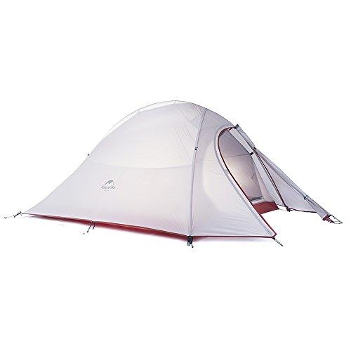 Naturehike Cloud-up Ultraleichtes Zelt für 2 Personen Doppelten Zelt 3/4 Saison Camping Zelt