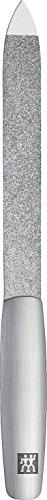 Zwilling 88326-131-0 Twinox Saphir-Nagelfeile, rostfreier Edelstahl, mattiert, 130 mm