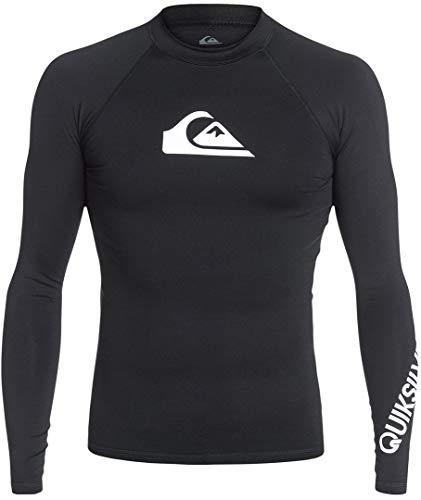 Quiksilver Herren All Time L/sl Surf Tee Black XL