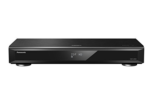 Panasonic DMR-UBS90EGK UHD Blu-ray Recorder (2TB HDD, Wiedergabe von Ultra HD Blu-ray Discs, 3x DVB-S/ S2, 2x DiSEqC, Vers. 2.0) schwarz
