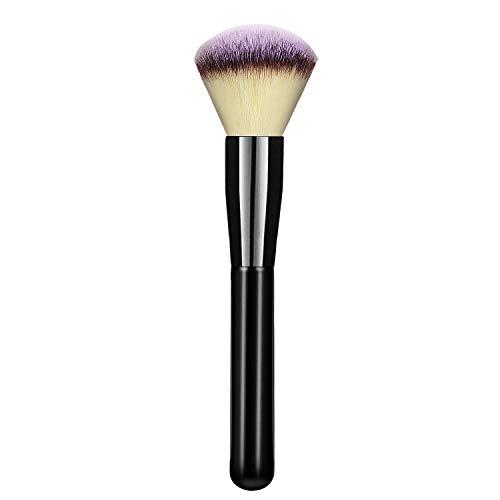 Make-Up Pinsel Schminkpinsel Kosmetikpinsel Rougepinsel - Hanamichi Foundation Pinsel Gesichtspinsel - Ideal für Cremige, Pudrige oder Flüssige Foundation - Mischen, Tüpfeln, Polieren - Rouge, Bronzer