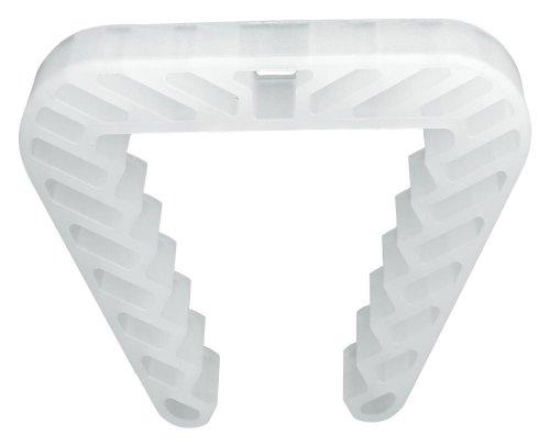 10 Stück Danto Spar Pack Fensterklammer, Fensterstopper für Rahmenstärke 3,0 bis 5,0 cm, transparent