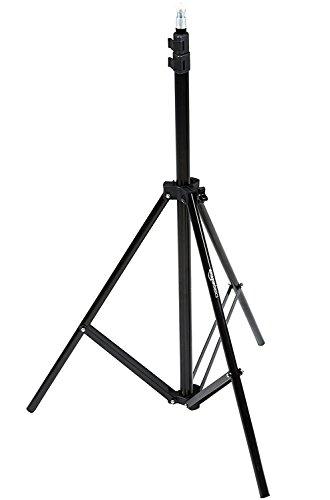 AmazonBasics - Kamera-Beleuchtungsstativ, Aluminium, 2,13 m