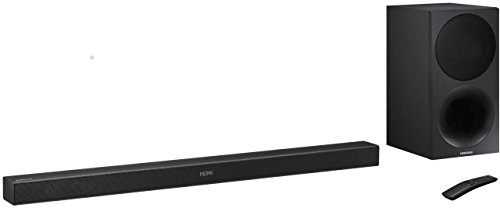 Samsung HW-M450/EN Soundbar (320W, Bluetooth, Surround-Sound-Expansion) schwarz