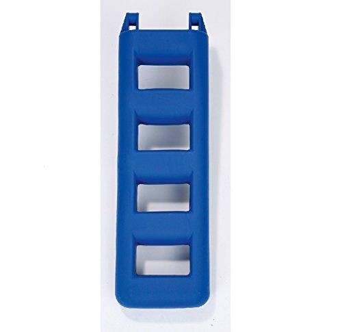 Fender Leiter Badeleiter (Blau, Stufen: 4 Länge: 950 mm)