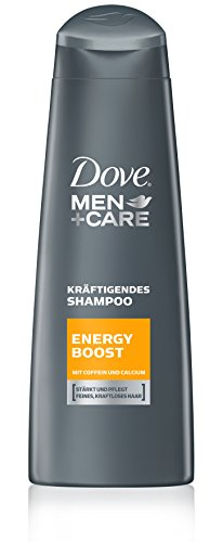 Dove Men+Care Haarpflege Shampoo Energy Boost, 6er Pack (6x 250 ml)