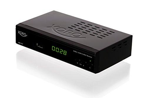 Xoro HRM 7619 Full HD 'HEVC DVB-T/T2/C' Kombi Receiver (HDTV, HDMI, SCART, Mediaplayer, USB 2.0, LAN) schwarz
