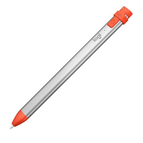 Logitech Crayon Bluetooth Digitale Zeichenstift (mit dem Apple iPad der 6.Gen, iPad Air der 3. Gen, iPad mini der 5. Gen kompatibel und verwendet die Apple Pencil Technologie)