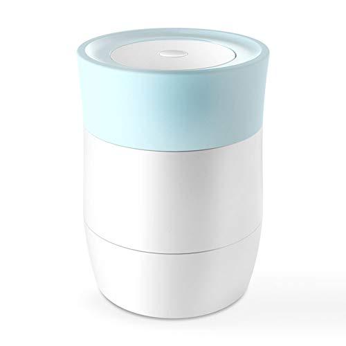 Thermos Speisegefäß Vakuum Isolierbehälter 600ml Glas Liner Foodbehälter Für 4 Stunden Warm Hält Für Lebensmittel Und Trinken Und Für Mikrowellen Geeignet(Blue)