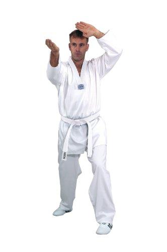 KWON Kampfsportanzug Hadan Plus Weißes Revers, weiß, 170, 1004170