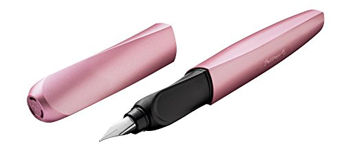 Pelikan 00806268 Twist Füllhalter (universell für Rechts- und Linkshände), Girly Rose