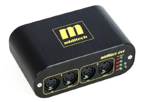 Miditech MIT-00151 Midiface 4x4 Midi Interface