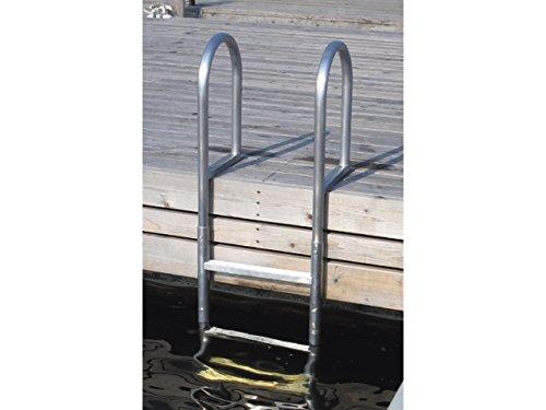 Badeleiter Aluminium 3 Stufen