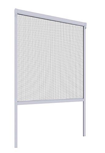 Mosquito Stop Insektenschutzrollo Fenster, 1 Stück, 130 x 160 cm, weiß, 23591