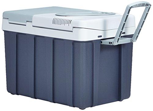 MOBICOOL W40 Thermoelektrische Trolley-Kühlbox für Auto und Steckdose, 39 Liter, 12/230 Volt AC/DC, A++