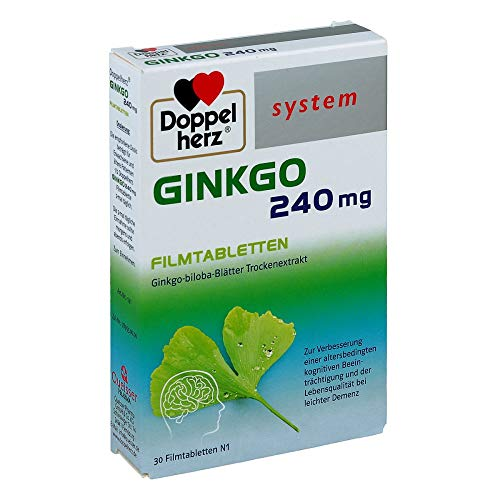 Doppelherz system Ginkgo 240 mg Tabletten, 30 St. Filmtabletten