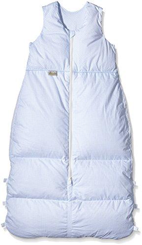 Climarelle Daunenschlafsack, längenverstellbar, Alterskl. ca 12-24 Monate, Vichy bleu, 110 cm