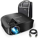 VANKYO Leisure 510 Beamer 3600 Lumen,Full HD Heimkino Beamr mit 200 Zoll Projektionsgröße 5000 Stunde Video Projektor ,Unterstützt Fire TV, Smartphone, Laptop, Pad, mit HDMI-Kabel, schwarz