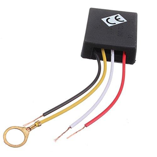 Ils - 3 Stück 220V AC 3-Wege-Touch Control Sensor-Schalter Dimmer Lampen-Schreibtisch-Licht-Teile