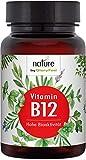 Vitamin B12 200 Tabletten 1000µg - Beide Bioaktiven B12 Formen Adenosyl- & Methylcobalamin + Depot + 400µg Folsäure als 5-MTHF - Laborgeprüfte Herstellung in Deutschland