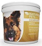Zahnpflege für Hunde - Zahnsteinentferner Ergänzung gegen Mundgeruch bei Hunden - Natürliche und Wirksame Reinigung für Zähne & Zahnfleisch - Pulver 100g Premium Ergänzungsfuttermittel