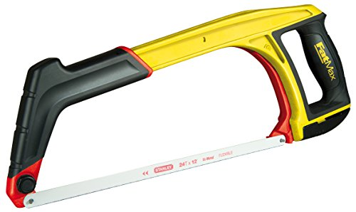Stanley FatMax 5-in-1 Multifunktionssäge 430mm 0-20-108 / Bügelsäge für Metall, Handsäge & Kurzsäge mit 45° Anschlag / Einfacher werkzeugloser Sägeblattwechsel