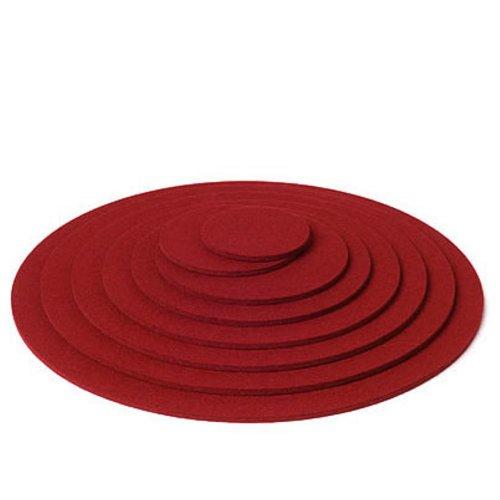 Hey Sign Untersetzer rund, ca 40 cm, Rot 11, Stärke 5 mm