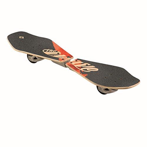 Streetsurfing Street Surfing Wooden Wave Rider 500079 Waveboard, Abstract, M