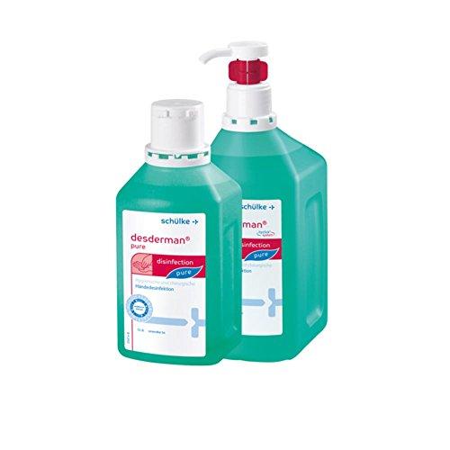 Desderman pure hyclick Händedesinfektionsmittel Dsinfektionsmittel, hyclick-Spender-System, 500ml