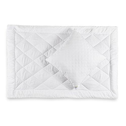 Lumaland Mikrofaser Winter Bettwaren Set, Kopfkissen 80 x 80 cm und Bettdecke 200 x 200 cm