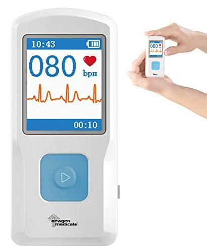newgen medicals EKG Gerät: Mobiles medizinisches EKG-Messgerät mit PC-Software (EKG-Monitor)