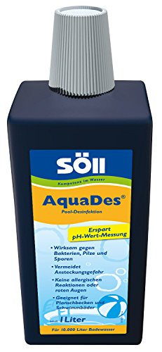 Söll 31430 AquaDes - Pool-Desinfektion - 1 L