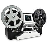 Super 8 & Normal 8 Filmscanner, 1080P HD Digitalisierer für Super 8 und 8 mm, mit 2,4' LCD und 32 GB SD-Karte, schwarz (Film 2 Digital MovieMaker)