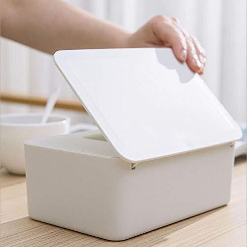 IrahdBowen Kunststoff Feuchttücher Aufbewahrungskoffer Box Feuchttücherbox, Baby Pflegetücher-Boxen, Feuchttüchter Aufbewahrungsbox Mit Deckel Für Home Office Kind